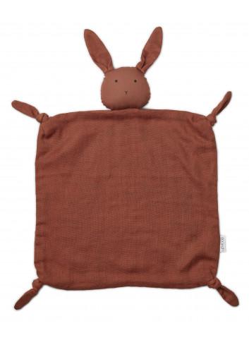 Agnete cuddle cloth - rabbit rusty