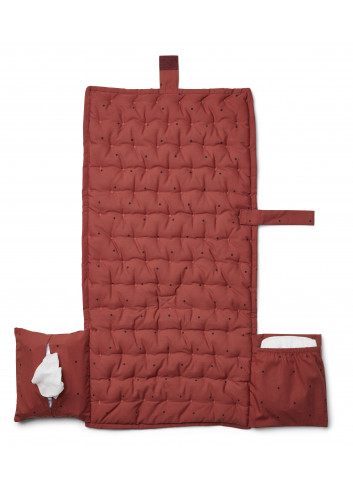 Changing blanket Wilma - classic dot rusty