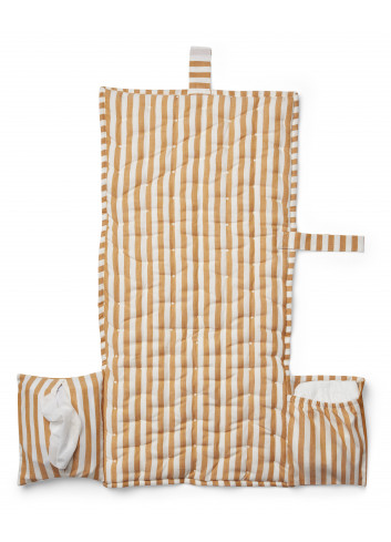 Changing blanket Wilma - Stripe mustard