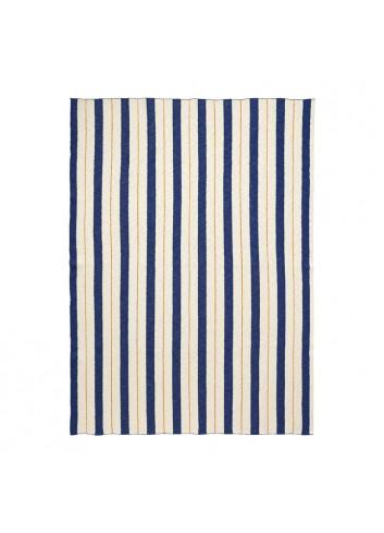 Plaid/Deken Pinstripe - Blauw