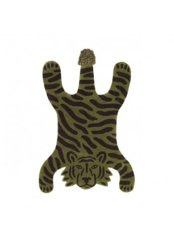 Safari Tufted Rug - Tiger