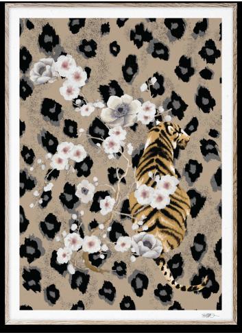 Poster Tiger - 30x40cm