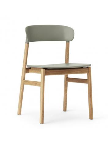 Herit Chair - Oak/Dusty Green