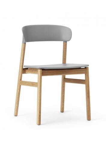 Herit Chair - Oak/Grey