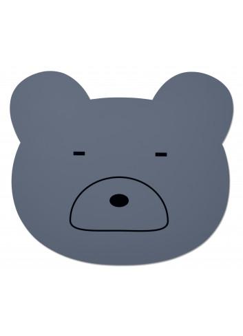 Aura placemat - Mr bear blue wave
