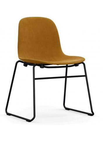 Form Chair Stacking Full Uph. Steel - City Velvet vo CA7832/060