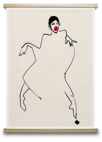 Poster Dancer 02 - 30x40cm