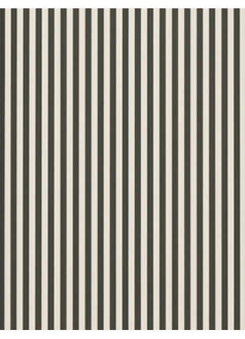 Wallpaper Thin Lines - Green/Offwhite