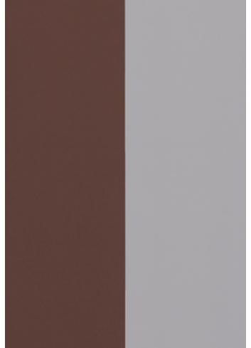 Wallpaper Thick Lines - bordeaux/grey