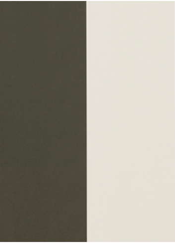 Wallpaper Thick Lines - Green/Offwhite