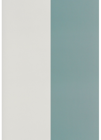 Wallpaper Thick Lines - Dusty blue/offwhite