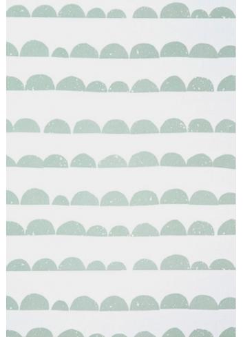 Wallpaper Half moon - mint