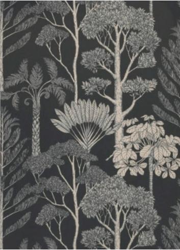 Wallpaper Katie Scott Trees - petrol