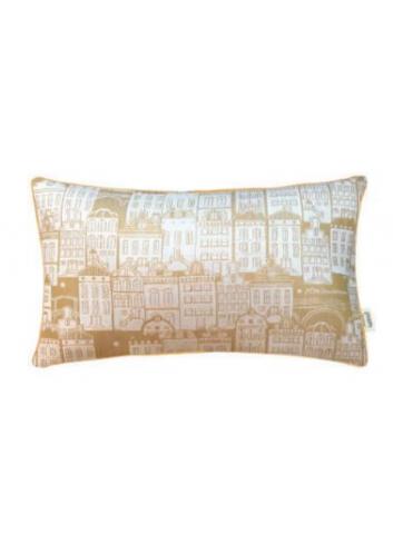 Cushion Woven Canalhouses - Ochre - 30x50