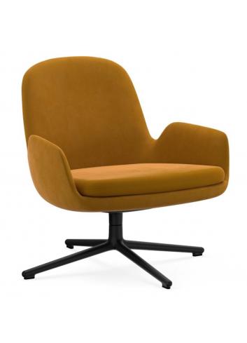 Era Lounge Chair Low Swivel - City Velvet 60