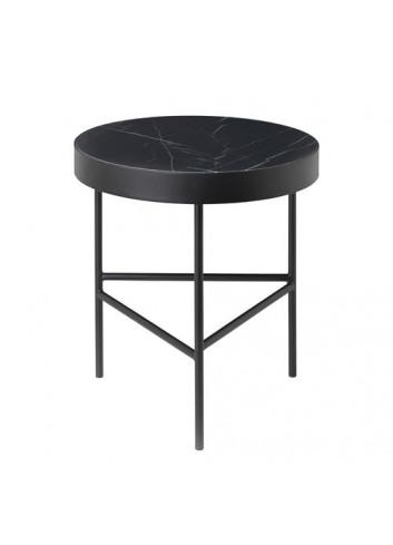 Marble Table - Black - Medium