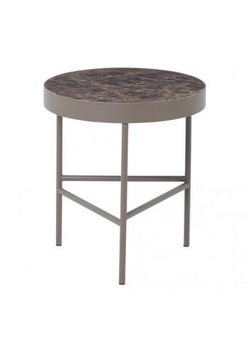 Marble Table - Brown - Medium