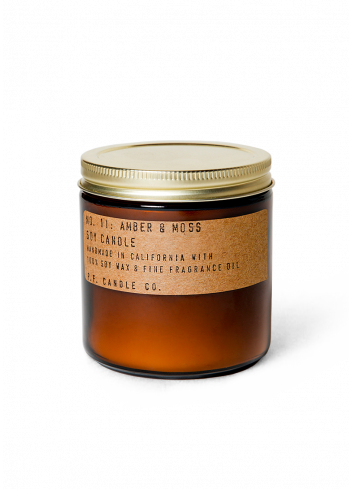 Soy Candle 12.5oz No 11 Amber & Moss