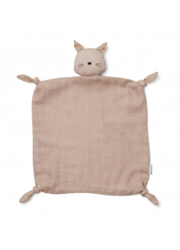 Agnete cuddle cloth - cat rose