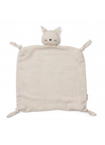 Agnete cuddle cloth - cat beige beauty