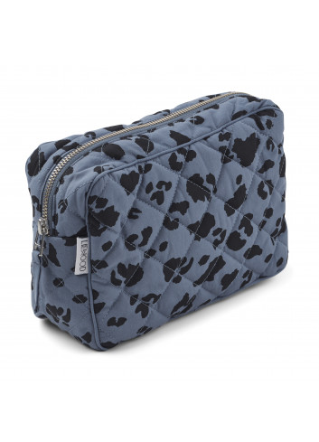 Claudia toiletry bag - leo blue wave