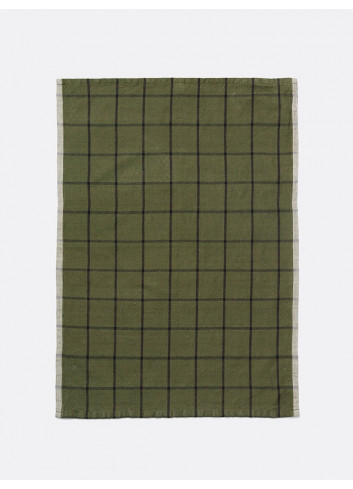 Hale Tea Towel - Green/Black