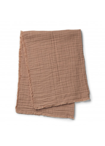 Soft Cotton Blanket - Faded Rose