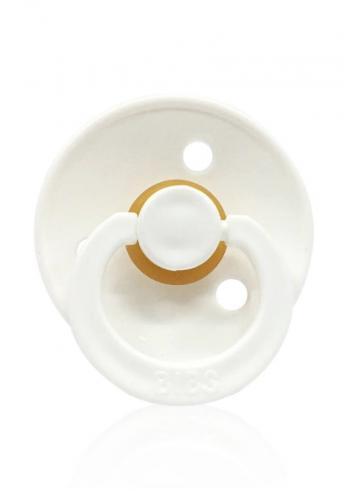 BIBS pacifier (0-6 months) - White