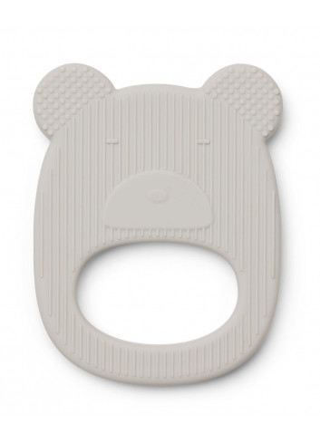 Gemma teether - mr bear - dumbo grey