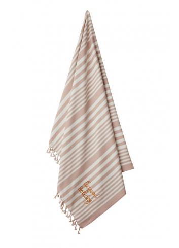 Monroe Hammam beach towel - rose