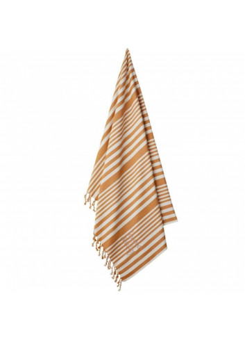 Monroe Hammam beach towel - mustard