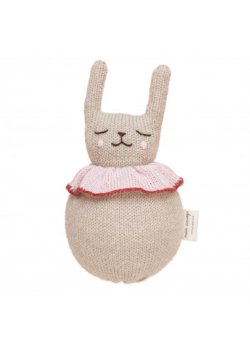 Jingling Rabbit Toy Roly Poly