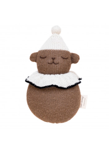 Jingling Teddy Toy Roly Poly