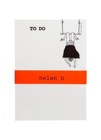 Blocnote Trapeze Girl
