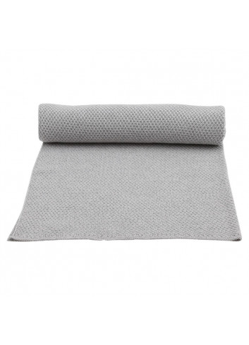 Blanket New Stitch - Grey Melange
