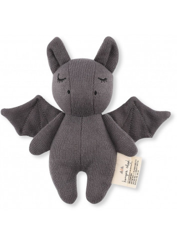 Rattle Mini Bat - grey
