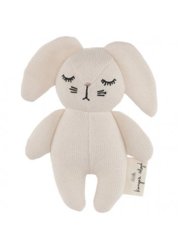 Rattle Mini Rabbit - off white
