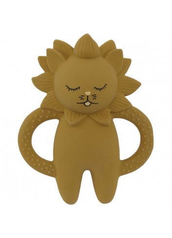 Teeth Soother Lion - mustard