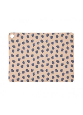 Placemat (2pack) - Leopard Dots