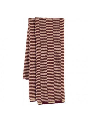 Stringa Mini Towel - Aubergine/Rose