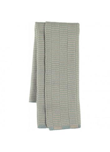 Stringa Mini Towel - Pale Blue/Camel