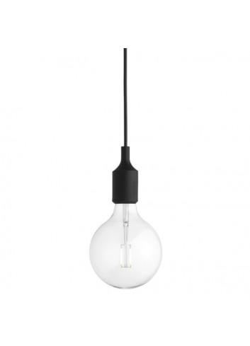 E27 LED Lamp - Black