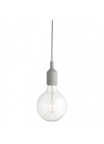 E27 LED Lamp - Light Grey
