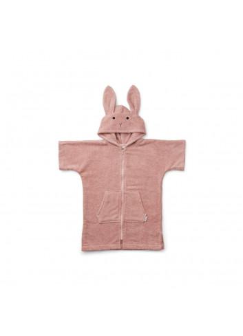 Lela Badcape (7-8y) - Rabbit/Rose