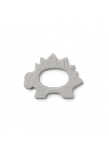 Gemma teether - Dino dumbo grey