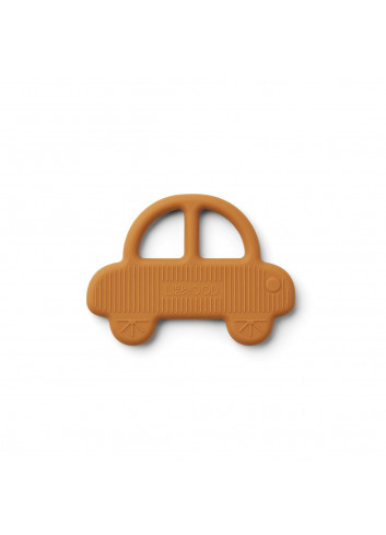 Gemma teether - Car mustard