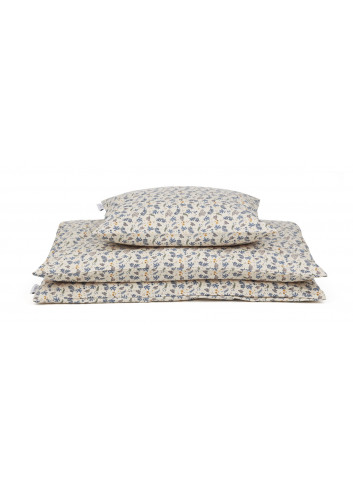 Carl Bed Linen - Coral floral