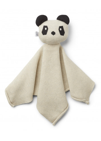 Milo Knit Cuddle Cloth - Panda