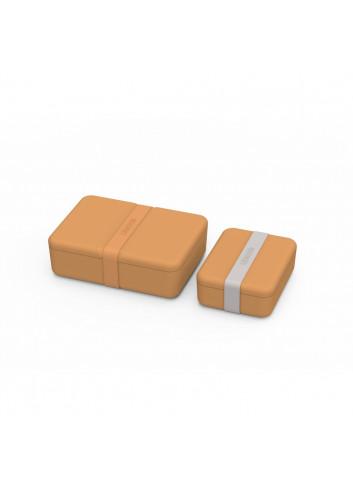 Bradley lunch box set - Mustard
