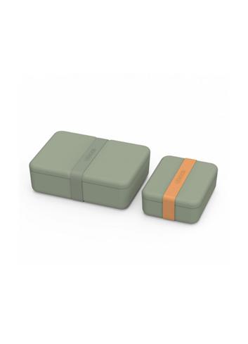 Bradley lunch box set - Faune Green